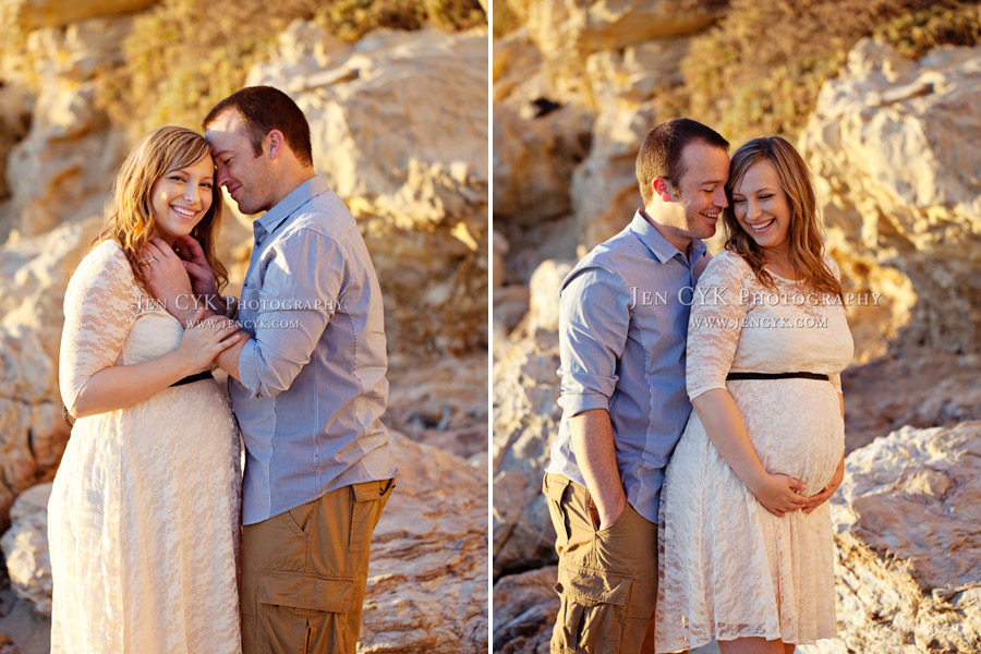 Beach Couples Maternity Pictures (10)