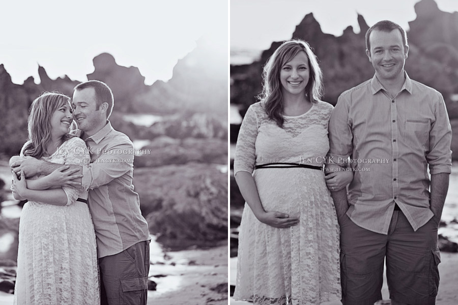Beach Couples Maternity Pictures (12)