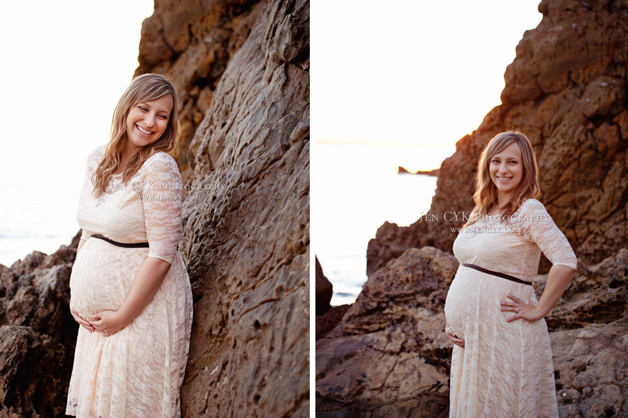 Beach Couples Maternity Pictures (13)