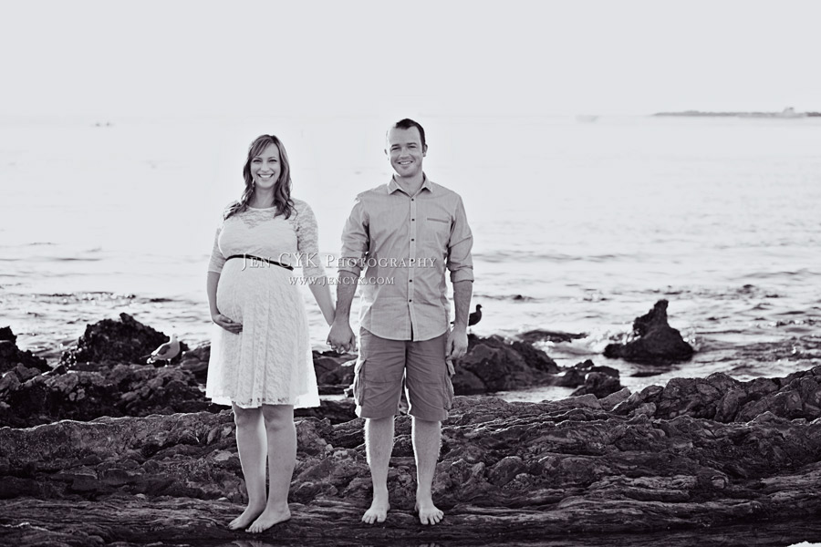 Beach Couples Maternity Pictures