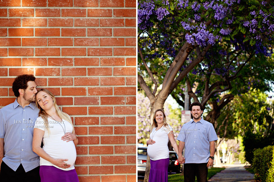 Orange Circle Maternity Photos (13)