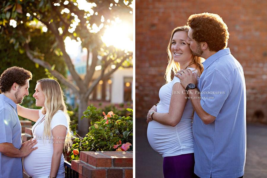 Orange Circle Maternity Photos (15)