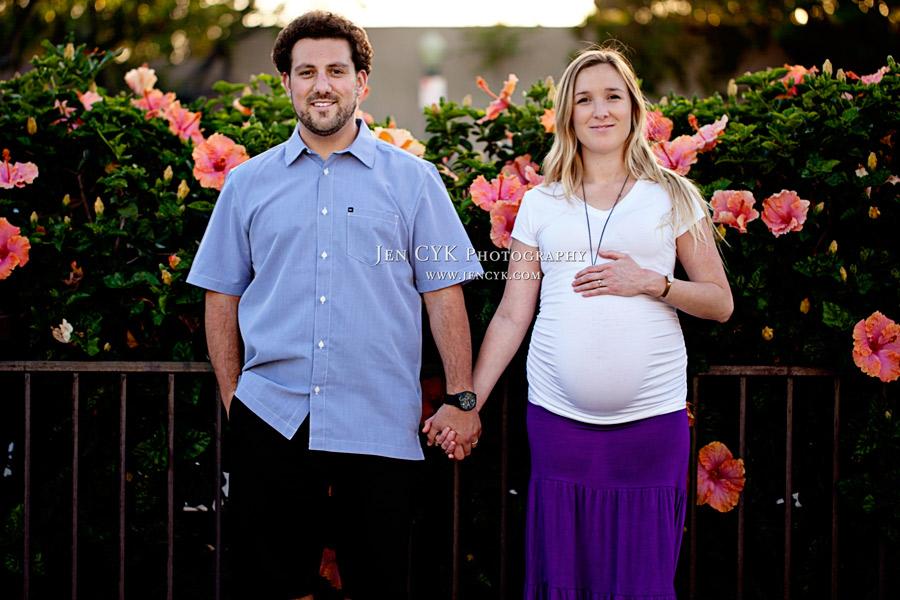 Orange Circle Maternity Photos (7)