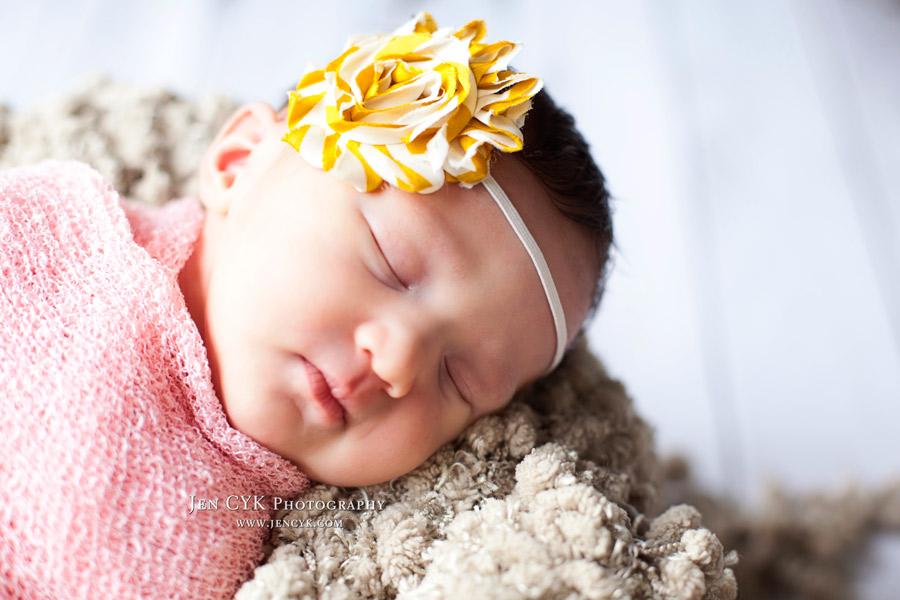 Newborn Photography Orange (1)