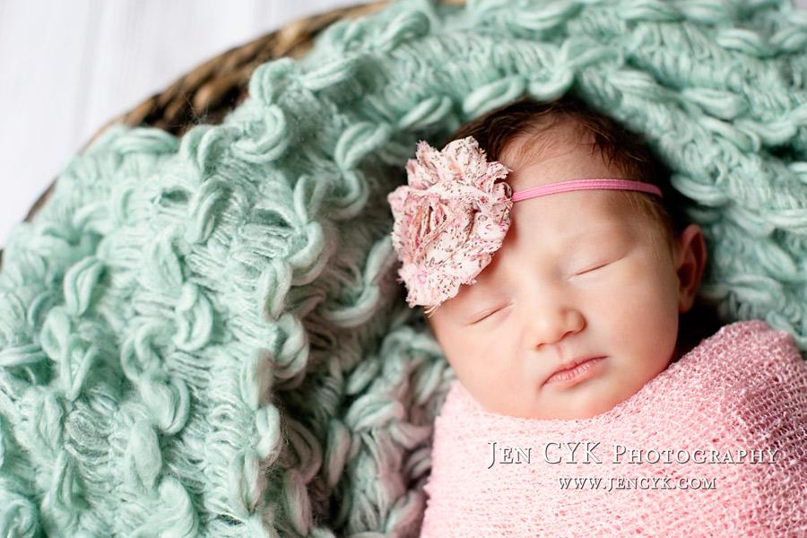 Newborn Photography Orange
