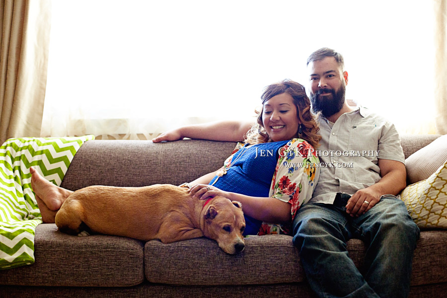 Maternity Photos With Your Dog