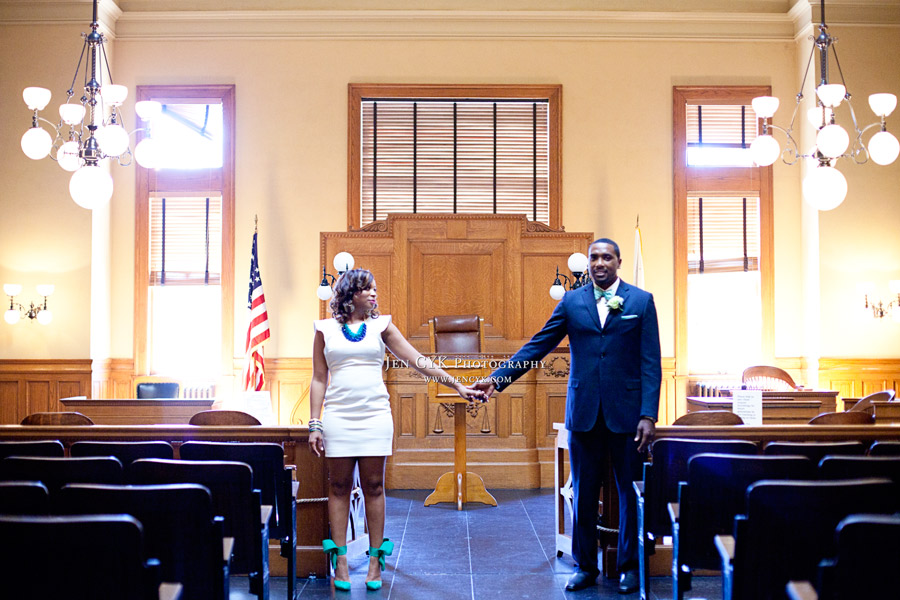 7 Tips For Planning A Small Courthouse Wedding: Beautiful People, Bright Shoes, A Favorite Courthouse