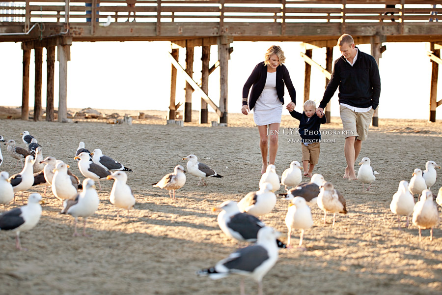 Newport Beach Pier Family Pictures (7)