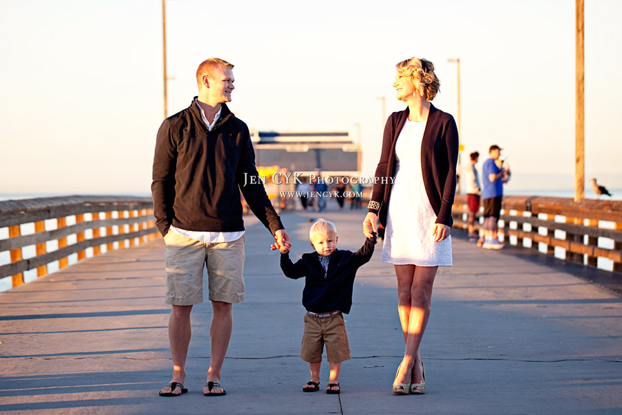 Newport Beach Pier Family Pictures
