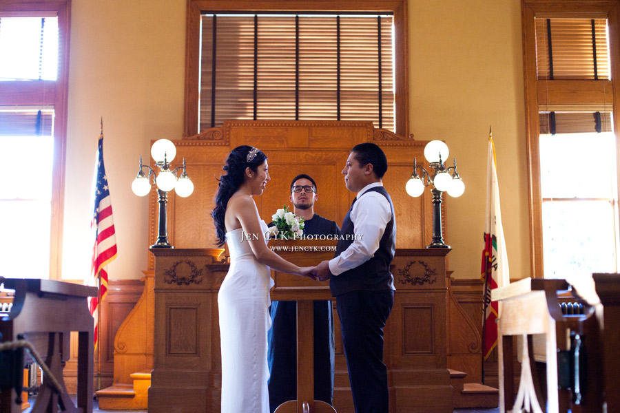 Santa Ana Courthouse Wedding Photographer Jen Cyk Photography