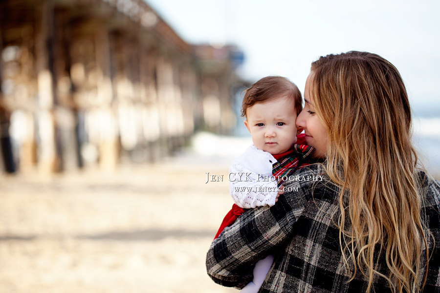Newport Beach Pier Family Pictures (2)