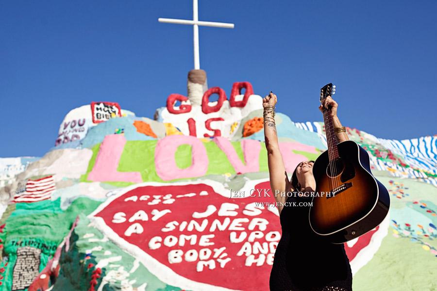 Salvation Mountain Girl Guitar (7)