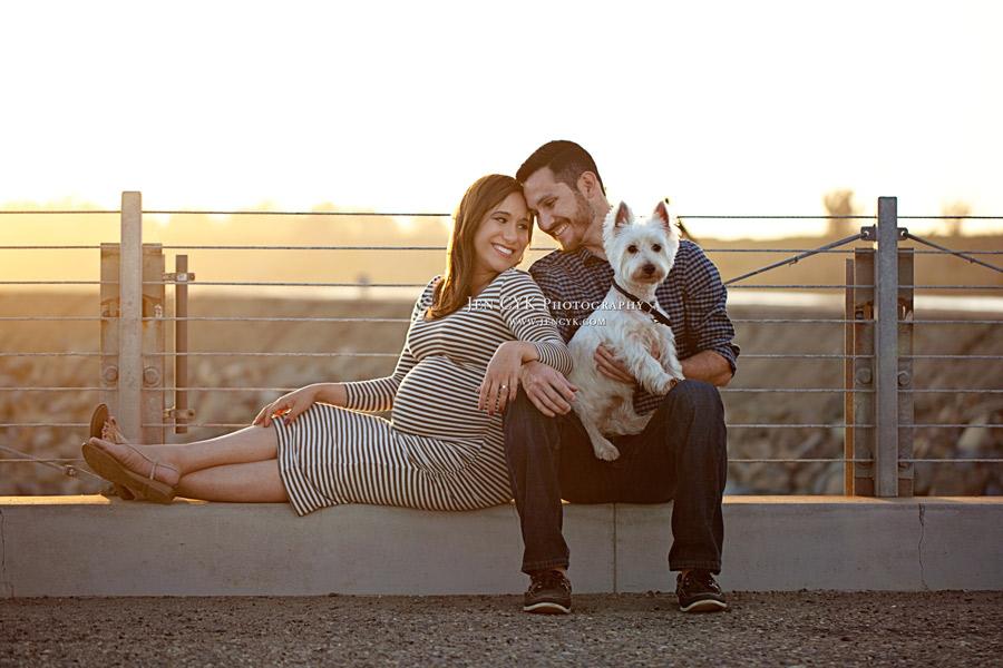 Huntington Beach Maternity Photos