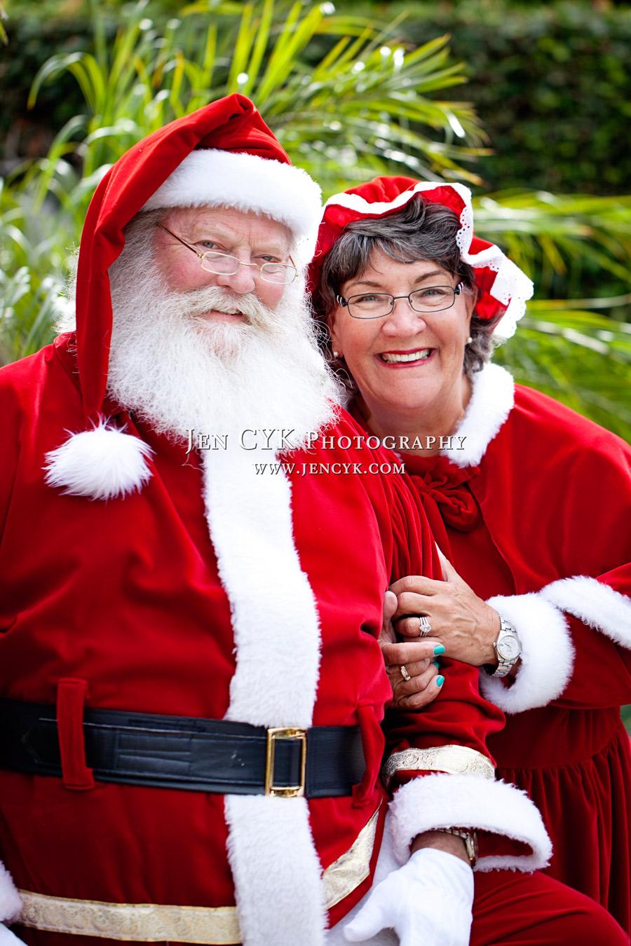 Huntington Beach Santa