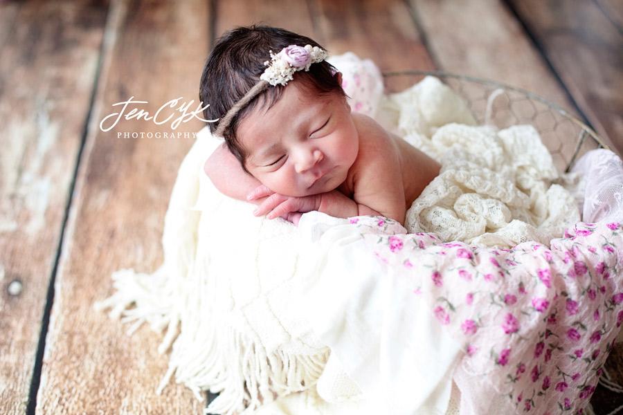 Gorgeous Newborn Baby Girl (1)