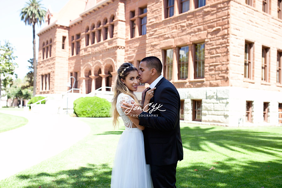 Santa Ana Orange County Courthouse Wedding