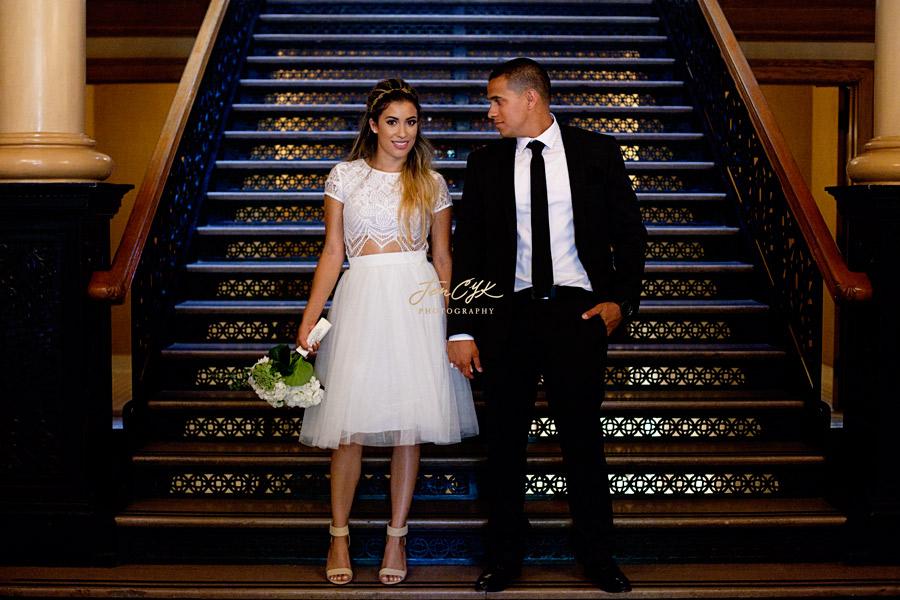 Santa Ana Courthouse Wedding