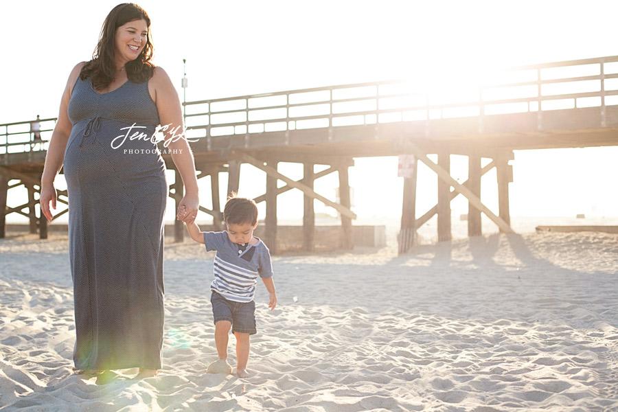 Seal Beach Pier Maternity Pics (13)