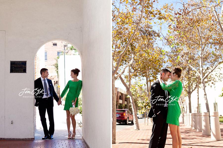 Santa Ana Courthouse Marriage