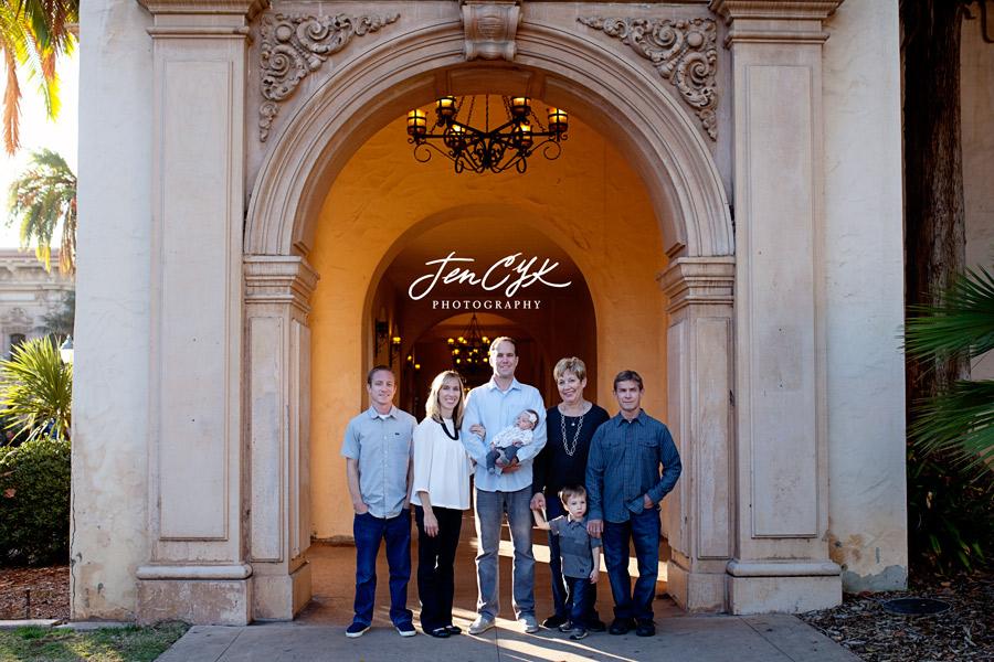 Balboa Park Family Pics