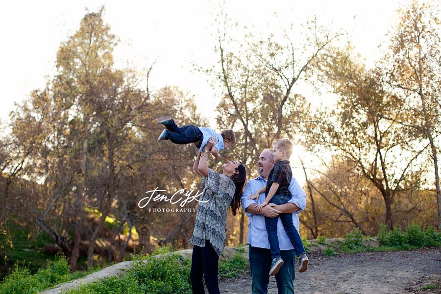 Sunset HB Family Pics (12)