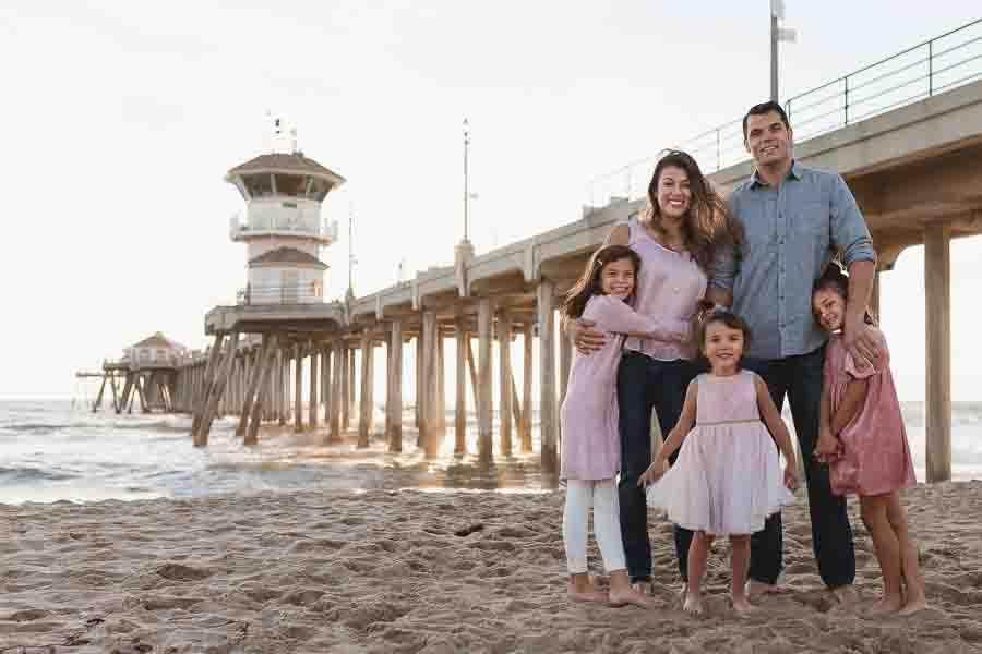 OC Huntington Beach family photographer
